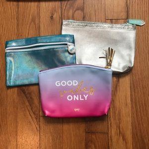Ipsy bags set of 3